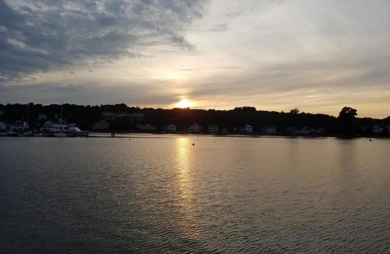 Sunset at Whaler's Inn.