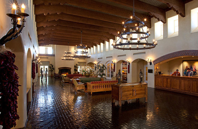 Hotel lobby at Hotel Albuquerque.