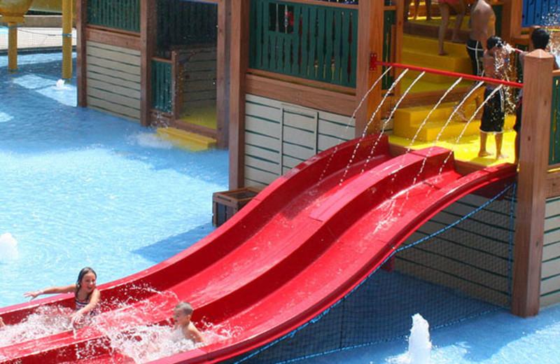 Waterpark at Yogi Bear's Jellystone Park Gardiner.