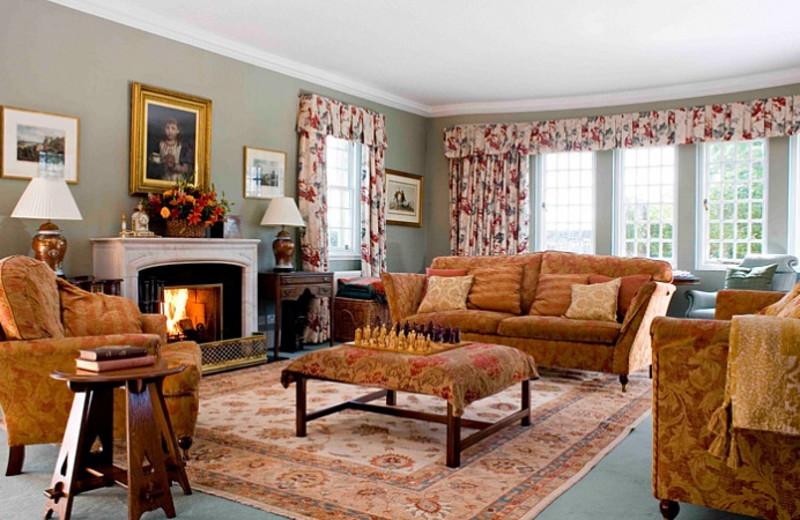 Lounge at Glenmorangie House.