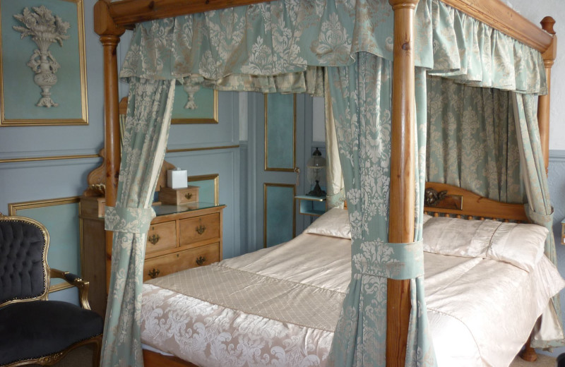 Guest room at The Old Count House.