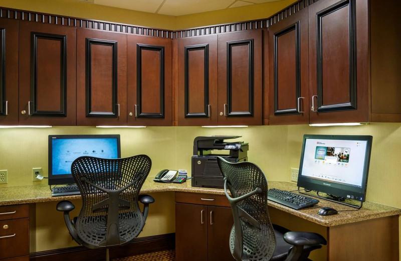 Business center at Hilton Garden Inn Cleveland East/Mayfield Village.