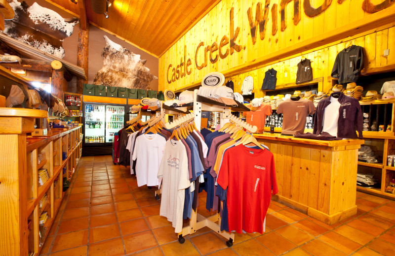 Shop at Red Cliffs Lodge.