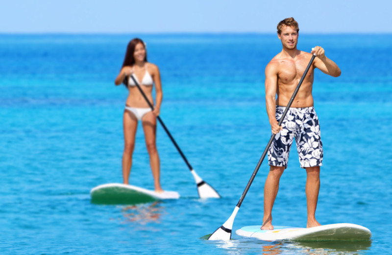 Paddle boarding at Have Travel Memories.