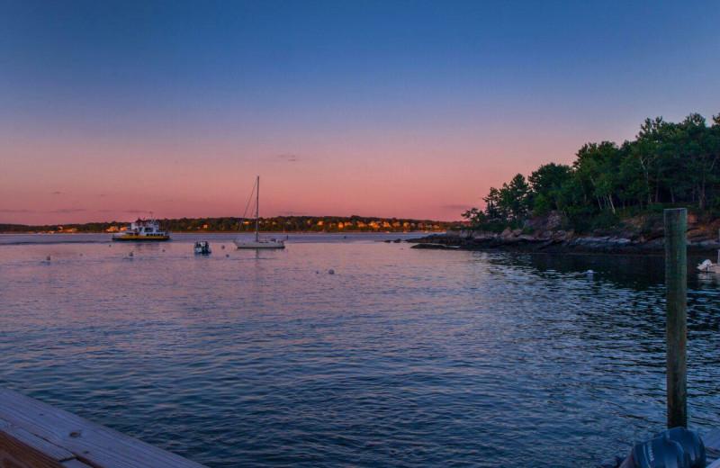 Sunset at Inn at Diamond Cove.