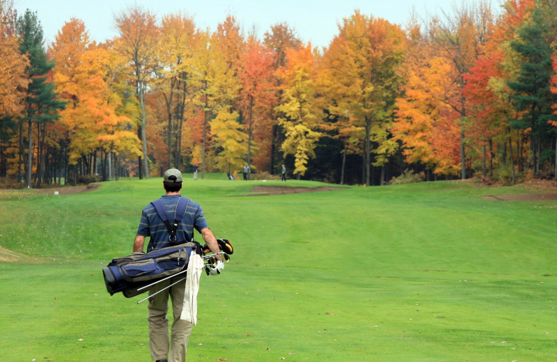 Golf at High Hampton Resort.
