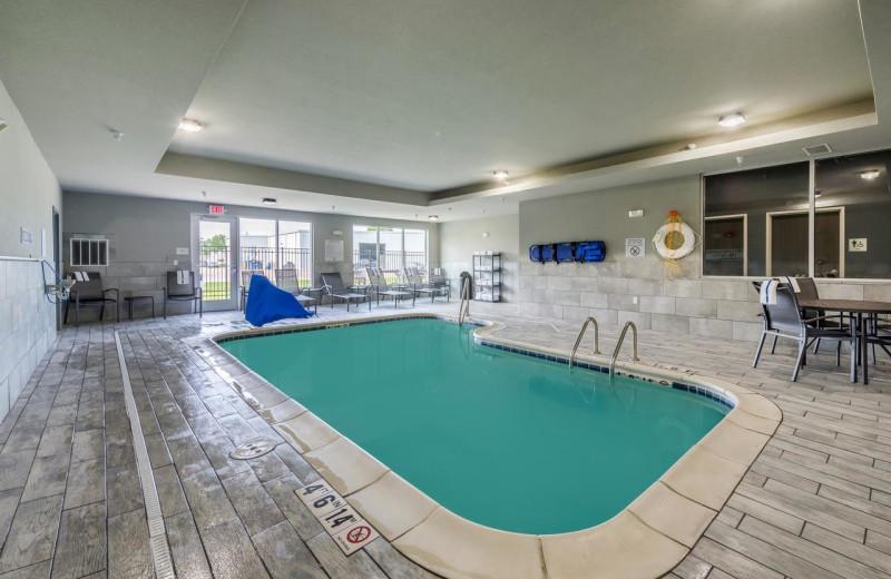 Indoor pool at Fairfield Inn & Suites - Stevensville.
