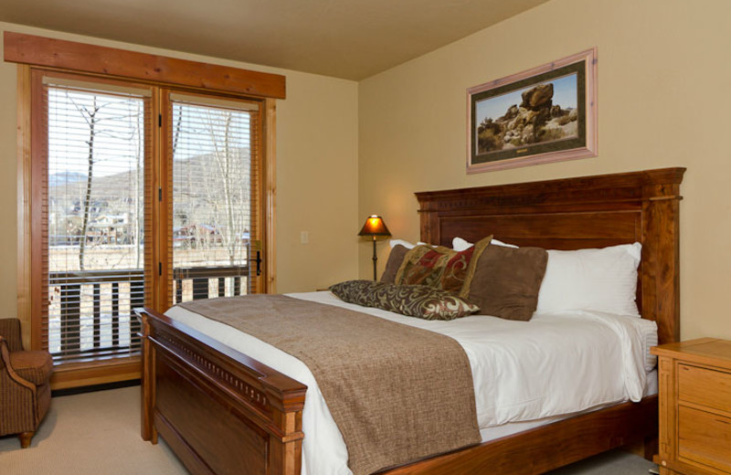 Guest room at Lodges at Deer Valley.