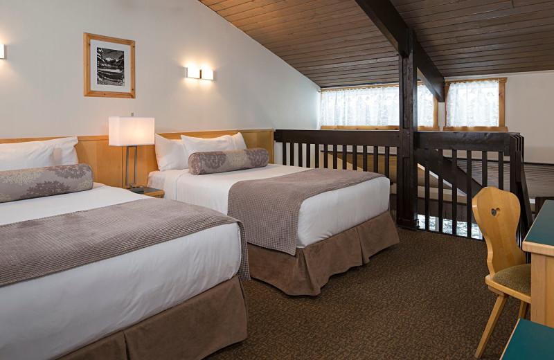 Guest loft at Rocky Mountain Ski Lodge.