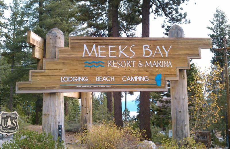 Welcome to Meeks Bay Resort & Marina.