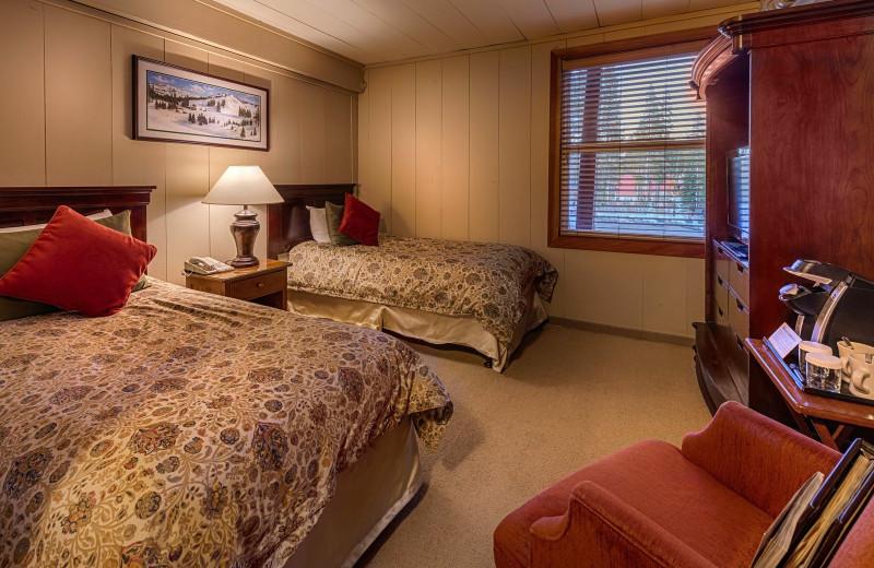 Twin Northern Room at Sugar Bowl Resort.