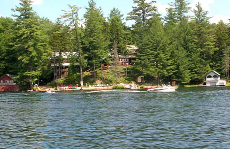 Exterior view of White Lake Lodges.