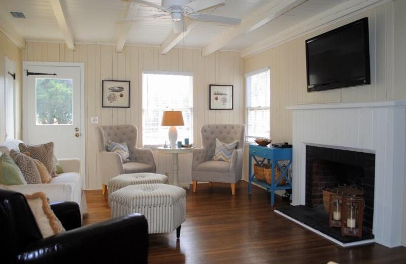 Rental living room at SSI Fun.