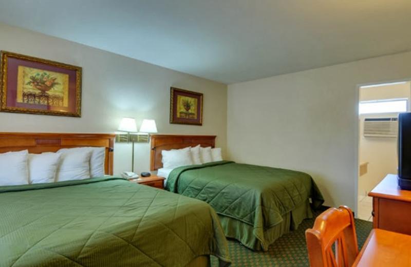 Guest room at Vagabond Inn Chula Vista.