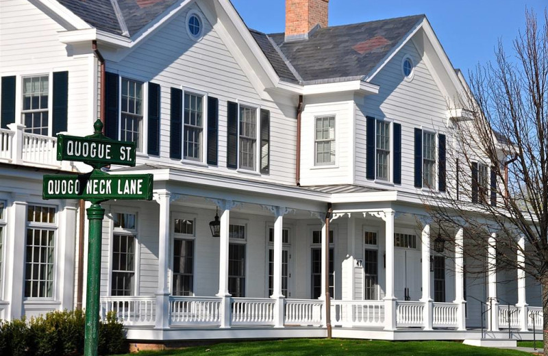 Exterior view of The Inn at Quogue.