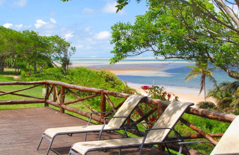 Beach view at Archipelago Resort.