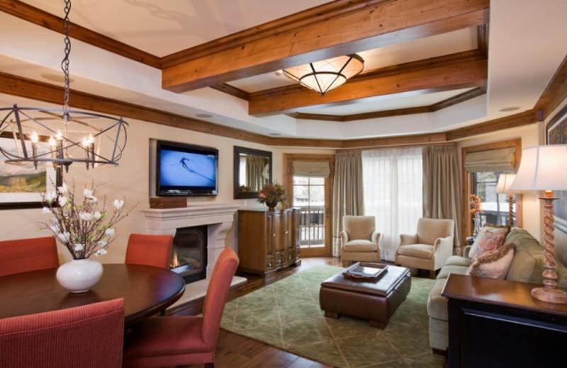 Living room at Willows & Riva Ridge South.