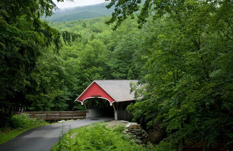 Covered bridge at Adair Country Inn.