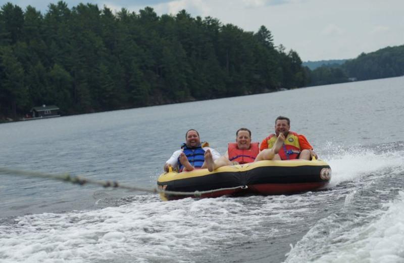 Lake activities at Lumina Resort.