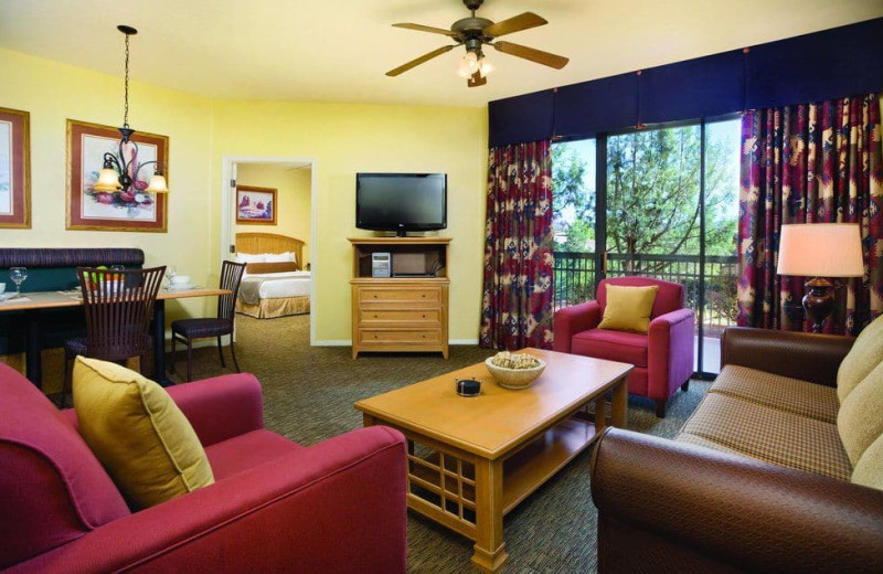 Suite at Wyndham Sedona.