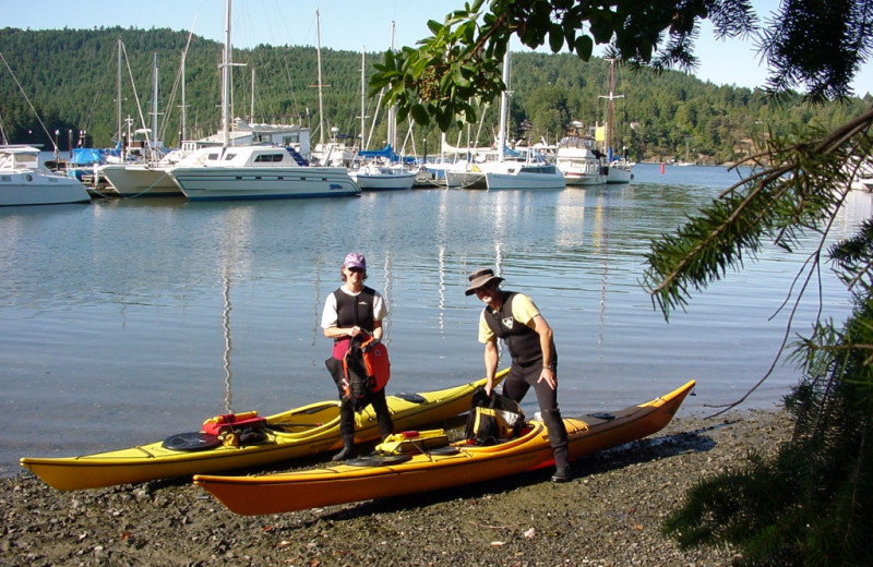 Water Activities at Brentwood Bay Lodge