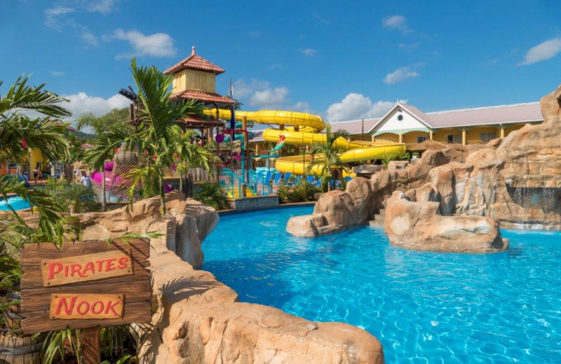 Water park at Jewel Runaway Bay Beach & Golf Resort.
