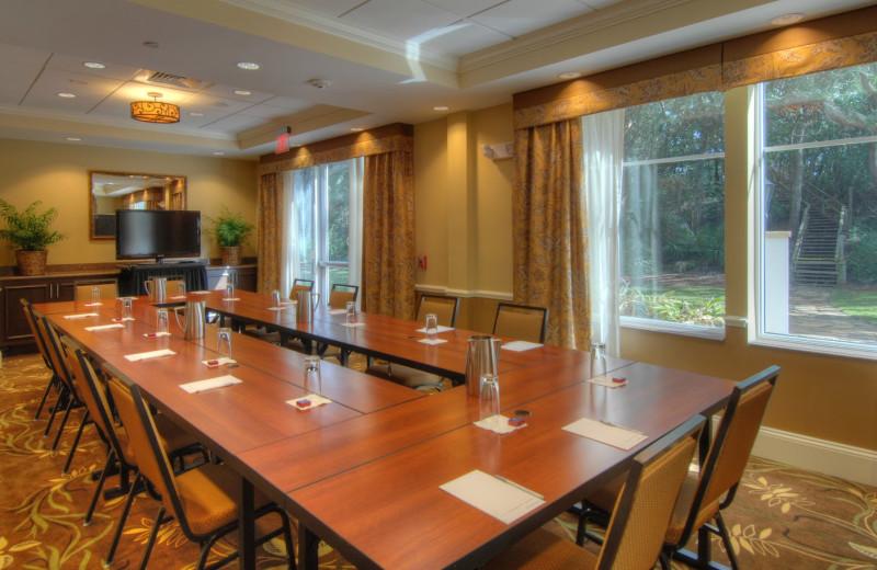 Meeting room at Hampton Inn & Suites Jekyll Island.