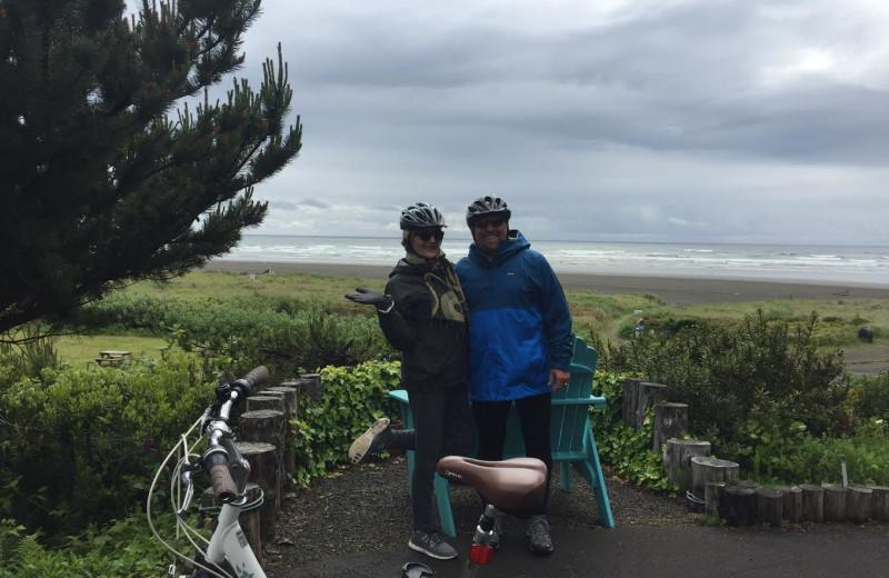 Biking at Sandpiper Beach Resort.