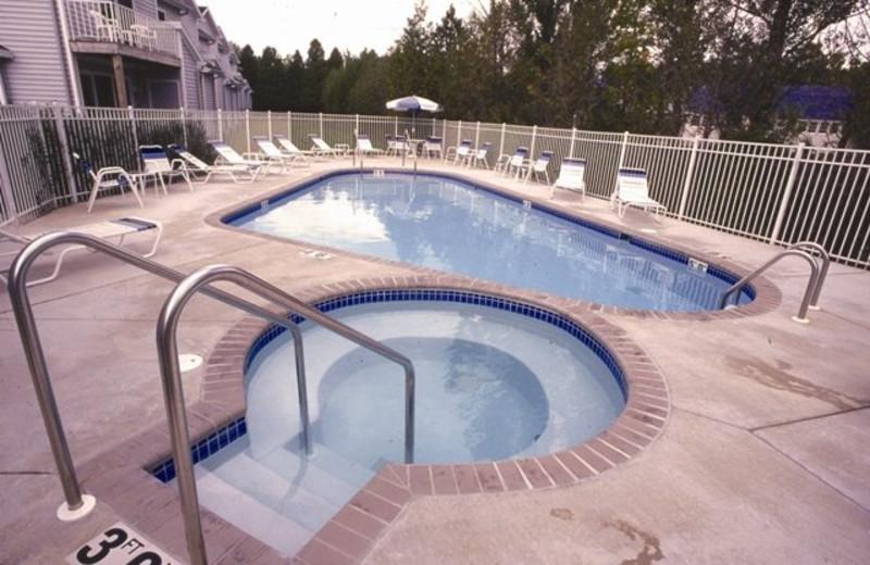 Outdoor Pool at Hilltop Inn