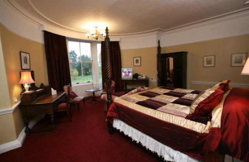 Guest room at Altamount House Hotel.