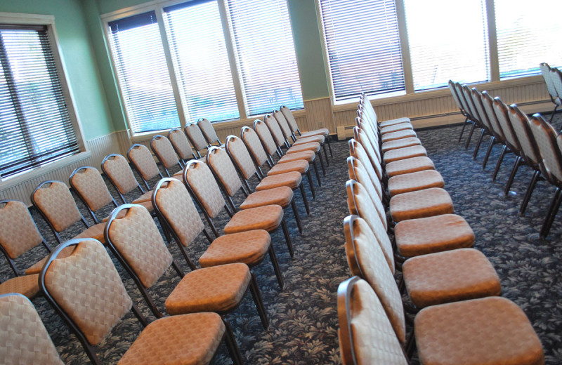 The Egg Harbor Meeting Room - the largest of ten meeting spaces at the Landmark Resort in Door County.