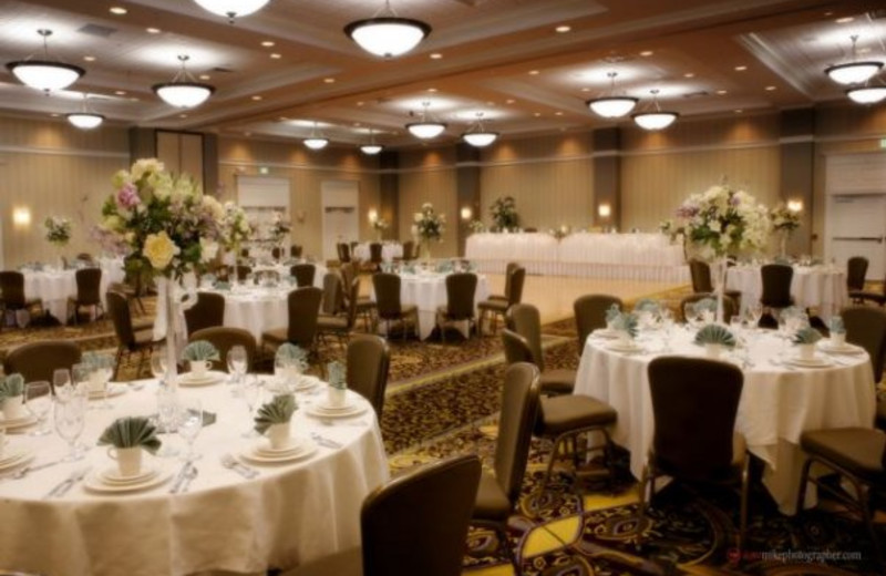 Wedding Reception at Harbor Hotel