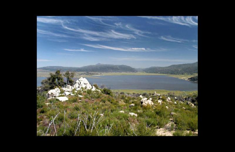 Lake at Lake Henshaw Resort.