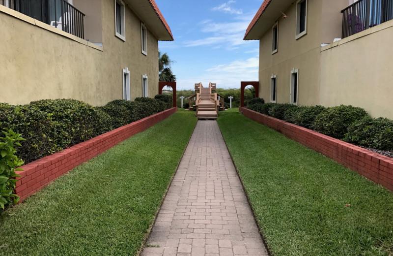 Rental exterior at Saint Augustine Beach Vacation Rentals.