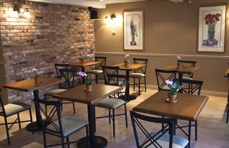Dining at Moffat Inn.