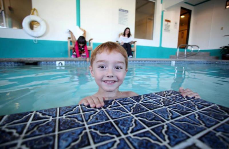 Indoor Swimming Pool at Inn at Seaside