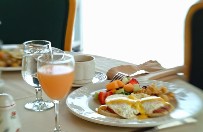 Breakfast at The Geneva Inn.