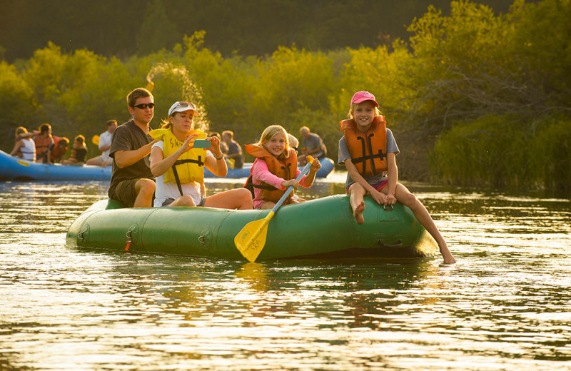 Rent rafts to float the Deschutes River
