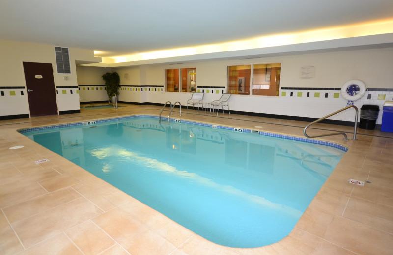 Pool at Fairfield Inn Jefferson City.