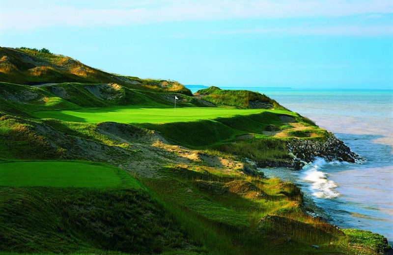 Whistling Straits Golf Course near Rochester Inn.
