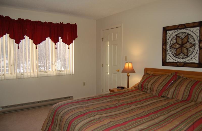 Guest room at Discounted Condominium Rentals.