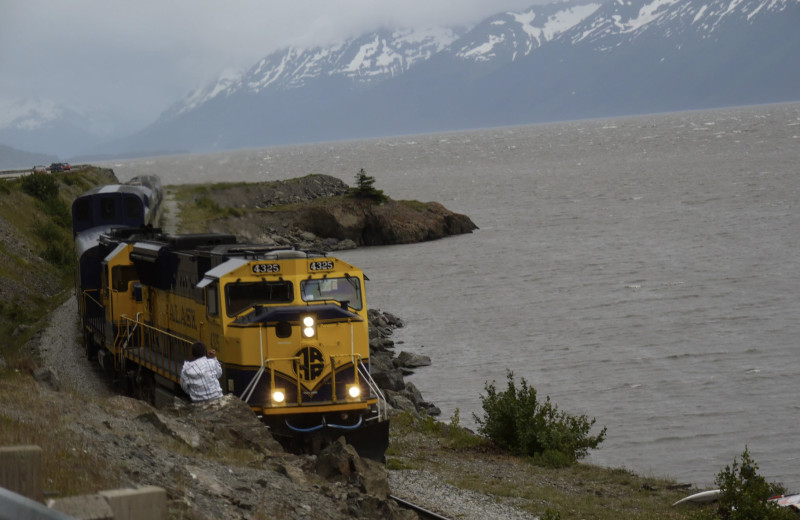 Train at Gwin's Lodge & Kenai Peninsula Charter Booking Service.