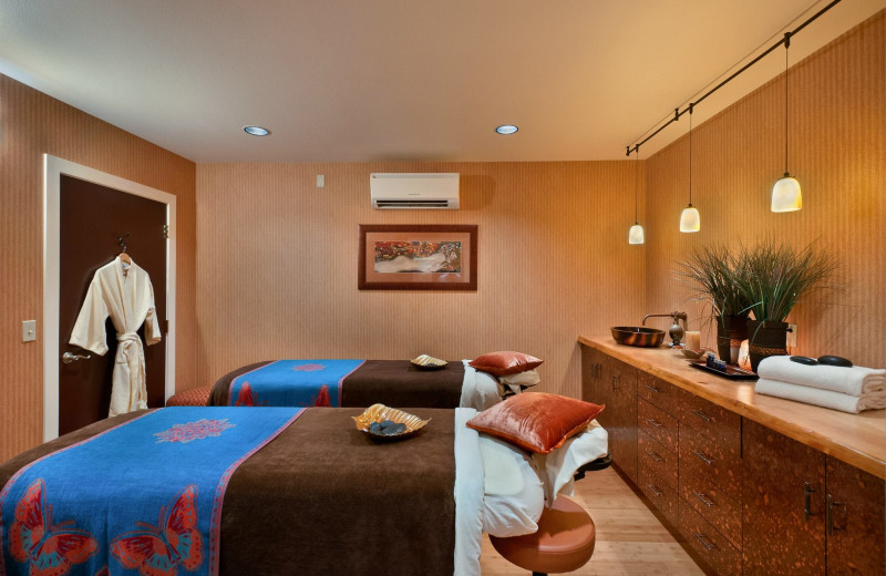The spa at Hallmark Resort in Cannon Beach.