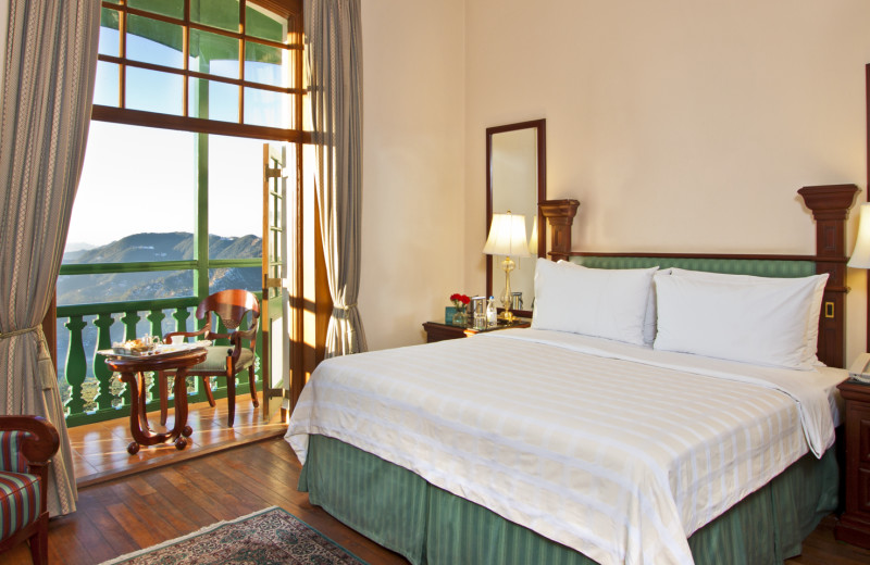 Guest room at Cecil - An Oberoi Resort.