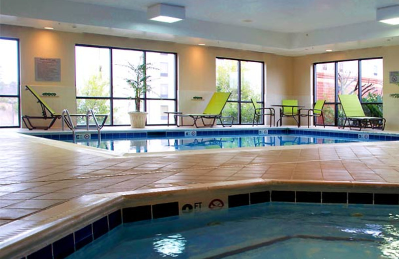 Indoor Pool at the Courtyard Hickory