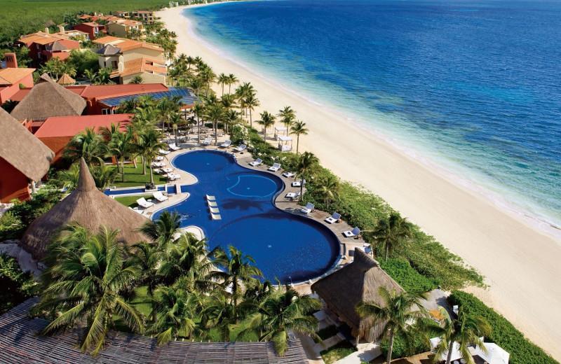 Exterior view of Zoetry Paraiso de la Bonita Riviera Maya.