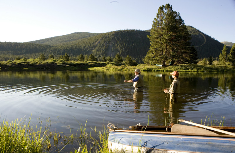 Fishing near The Pines Lodge, A RockResort.