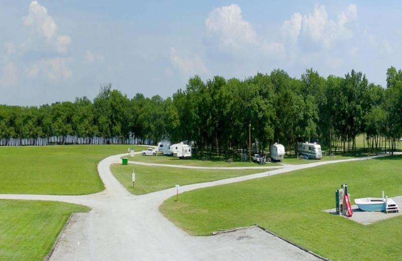 Exterior view of Pelican Landing Resort & Campground.