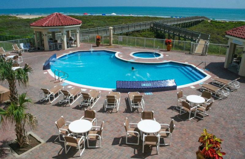 Outdoor Pool at La Copa Inn Beachfront Resort