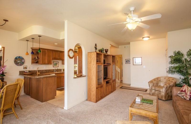 Vacation rental interior at Great Vacation Retreats.